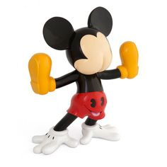 """Original Contemporary Sculpture made of resin with Aluminum Varnish by Fidia Falaschetti. The """"Freaky Mouse"""" Mickey Mouse theme in from the edition of 5 signed and numbered."""