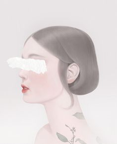 Taipei, Tawain based artist Hsiao-Ron Cheng, has a certain calmness and serenity about her personality that is reflected in her digital illustrations. Her earlier work, first featured in Hi-Fructos…