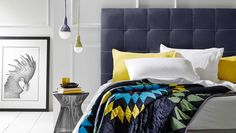 Bedroom Interior with Hugo Bedhead Design by Heatherly Design Bedheads, Australia « « Design Images, Photos and Pictures Gallery « DESIGN WAGEN