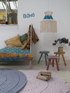 Suspension en crochet frangé, €55.00 by LES PETITS BOHEMES