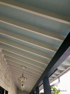 """""""Haint Blue"""" ceiling"""