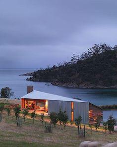 Shearers Quarters House. Bruny Island Tas. John Wardle architects. #lifemadesimple #australianarchitecture