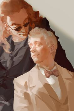 Crowley and Aziraphale Michael Sheen, Good Omens Book, All Meme, Terry Pratchett, Fandoms, Angels And Demons, Series Movies, Tv Series, Crowley