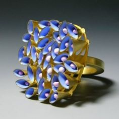 Ring with moveable cones, 2011
