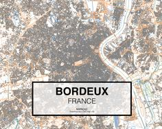 Burdeos- France. Download CAD Map city in dwg ready to use in Autocad. www.mapacad.com