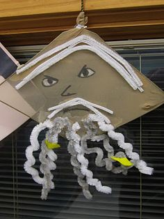 Make a mask (looks easy) for the main character and tell the class about your book from that character's point of view.