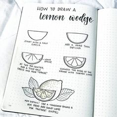 Happy weekend, everyone! In honor of the warmer months to come, I'm showing you how to draw a lemon wedge. I (uncharacteristically)…