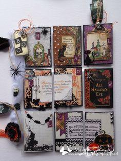 kimya verpakkingen: Halloween pocket letter!