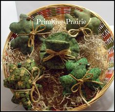 St Patrick's day Primitive Shamrock Leprechaun by PrimitivePrairie, $11.95