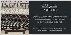 Carole Fabrics 2013