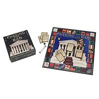 PASSING THE BAR GAME  $70.00  Did you ever hear the one about the lawyer who was so tired of studying for the bar exam that she invented a board game to make it more fun?    It's no joke. Caryn Pincus, who passed the Florida bar exam in 2008, created this game as an engaging way to study law and legal reasoning. Using questions modeled after the multi-state portion of the bar exam, this game makes a great supplement for law students, or an entertaining review for legal professionals.