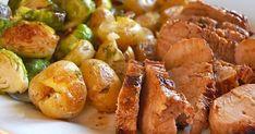 Recette: BBQ, Le Meilleur Filet de Porc - Circulaire en ligne Baked Potato, Sprouts, Potato Salad, Pork, Potatoes, Baking, Vegetables, Ethnic Recipes, Filet Porc