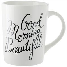 Good Morning Beautiful Mug #coffee #mug #charming