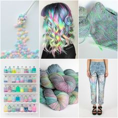 Mood Board Monday - Milkyway by Tanis Fiber Arts Tanis Fiber Arts, Love Aesthetics, Mood Colors, Color Collage, Yarn Inspiration, Color Studies, Rainbow Hair, Color Theory, Colors