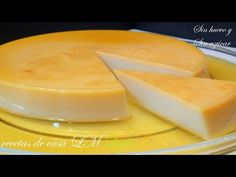 FLAN DE QUESO SIN HUEVO , SIN AZÚCAR Y SIN HORNO /LIGHT - YouTube Cake Pops, Cantaloupe, Dairy, Food And Drink, Cupcakes, Cheese, Fruit, Eat, Desserts