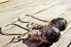Rutilated Quartz with Sterling Silver Wire by wwcsilverjewelry,