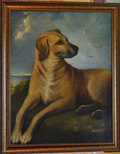 Antique Dog Art on Pinterest | Dog Paintings, Oil Paintings and ...