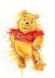 Winnie the Pooh by LukeFielding on deviantART