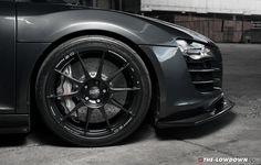 "Superforgiata 19"" on Supercharged Audi R8 Track Car #OZRACING #ITECH #SUPERFORGIATA #RIM #WHEEL"