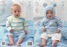 3608 | Knitting Patterns | Babies Sweaters