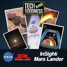 Tech and Goodness highlights NASA and JPL's InSight Mars Lander! InSight lifted off into space on May 2018 from Vandenberg Air Force… Space Shuttle Challenger, Lift Off, Space Race, Super Powers, Nasa, Air Force, Insight, Russia, Highlights