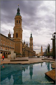 Plaza   del Pilar  Zaragoza
