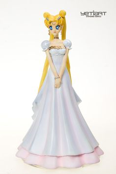 Princess Serenity Sailor Moon Hand Painted Resin Model Garage Kit Yetiart Figure