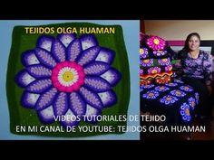 Flor grande en punto rococo de 12 pétalos video 1 - YouTube