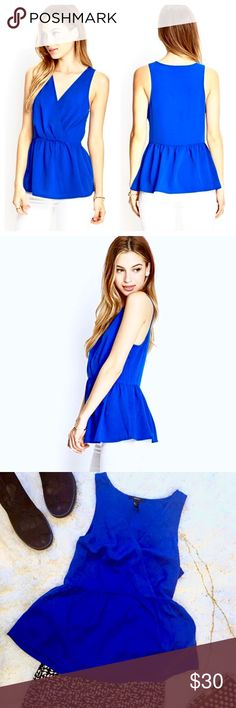 """Ecoté, Royal Blue 109% Silk Tank 💙💯💫⭐️ Ecoté, Royal Blue, 💙 Urban Outfitters Tank Top. Made of 100% silk material, 💯 with a princess cut neckline, racerback style in the shoulders. Thin elastic banded waist that flares out slightly after waist. Incredibly Comfortable, Slimming, Perfect for Summer!! EUC!! LIKE BRAND NEW!!!   Length: 26""""  Chest: 16"""" left to right  100% Silk Tank 💙🌀💥💯 Ecote Tops Tank Tops"""