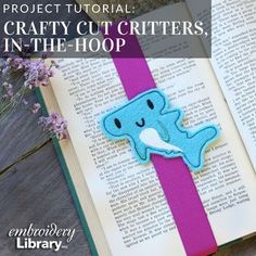 Crafty Cut Critters (In-the-Hoop) (PR2113) from www.emblibrary.com