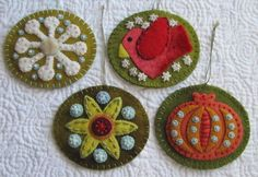 Alamosa Quilter: Sue Spargo Ornaments - Finished!