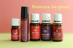 Eczema be gone! I used Melrose oil which got rid of my son's eczema. I then added lavender, frankincense, and melaleuca to the mix to heal his skin so there would be no scarring or rough patches.