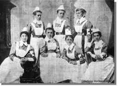 ... Nurses were known to have served in the Boer war
