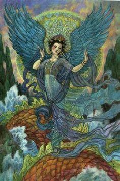 Angel of Dreams by Rebecca Guay