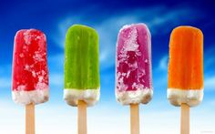 6 Mouthwatering 'Adults Only' Gourmet Popsicle Recipes for Summer Colorful Ice Cream, Rainbow Ice Cream, Colorful Food, Detox Verde, Cream Wallpaper, Hd Wallpaper, Computer Wallpaper, Black Wallpaper, Frozen Wallpaper