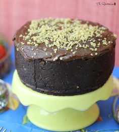 The Rawtarian: Raw chocolate cake recipe