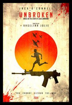 'Unbroken' great  and Inspiring movie #louizamperini