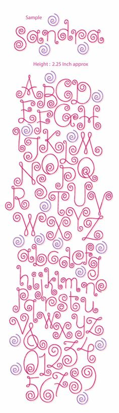 Grand Sewing Embroidery Designs At Home Ideas. Beauteous Finished Sewing Embroidery Designs At Home Ideas. Hand Lettering Alphabet, Doodle Lettering, Creative Lettering, Lettering Styles, Calligraphy Letters, Alphabet Letters, Free Machine Embroidery Designs, Embroidery Patterns, Hand Embroidery