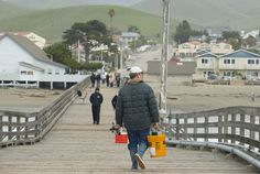 let's not forget Cayucos!...hung out here almost every day with boyfriends my parents didn't know existed ;) good times...