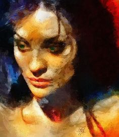 By Tzviatko Kinchev.  Check out his works and how he uses a great colorful palette of warm colors.