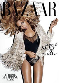Beyoncé Whips Her Hair for Harper's Bazaar