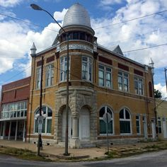 First National Bank Building in Garvin County, Oklahoma.