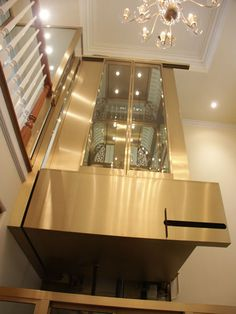 Architectural Elevators – Manufactures Top Quality Residential elevators, custom elevators, Glass elevators, Freight Evelvator and Dumbwaiter Front Elevation Designs, House Elevation, Elevation Plan, Elevator Design, Best Modern House Design, Glass Elevator, Scandinavian Style Home, Home Design Magazines, Modern Asian