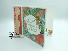Hello Design, Youre A Peach, Glue Dots, Free Gifts, Thursday, Stampin Up, Card Stock, Touch, Paper