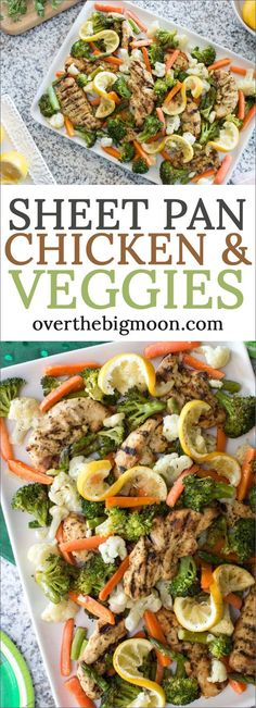 Could You Eat Pizza With Sort Two Diabetic Issues? Easy Sheet Pan Chicken And Vegetables - The Perfect One Pan Meal That Can Easily Be Customized Or Made With Fresh For Frozen Food From Fast Healthy Meals, Easy Healthy Recipes, Easy Meals, Healthy Food, Best Chicken Recipes, Beef Recipes, Family Recipes, Vegetable Recipes, Pasta Recipes
