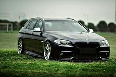 BMW F11 5 series Touring black
