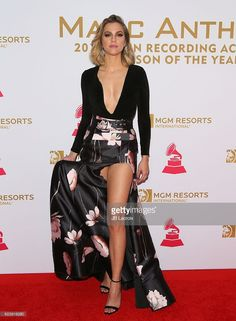 Daniela di Giacomo attends the 2016 Latin GRAMMY Person of the year honoring Marc Anthony on November 16, 2016 in Las Vegas, California.