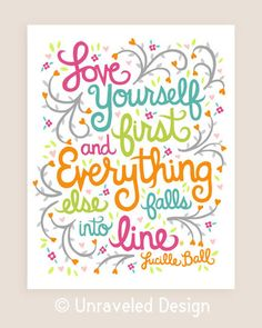 11x14in Lucille Ball Quote Illustration Print. by unraveleddesign