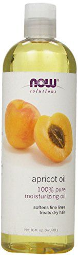100% Pure Moisturizing Oil  Softens Fine Lines  Treats Dry Hair   Condition: Prematurely aged skin irritated skin or need for an all natural dry hair treatment.  Solution: 100% Pure Apricot Oil is a...