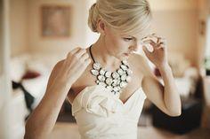23 Fabulous Statement Necklaces for the Bride we ♥ this! moncheribridals.com #weddingjewelry #statementnecklace